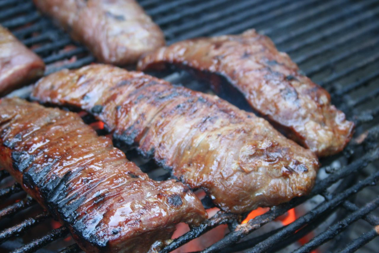 grill flank steak