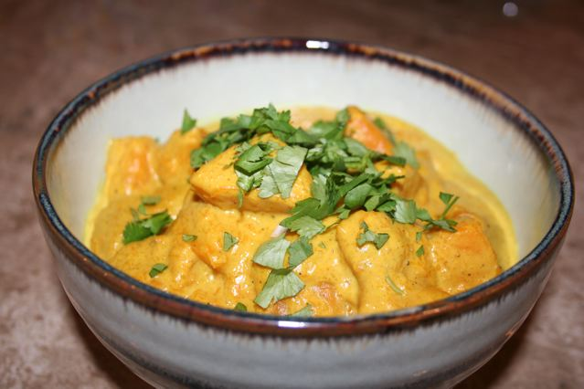 Curried Butternut Squash From Ibu