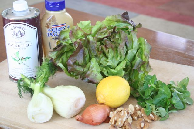 Mache Salad Ingredients