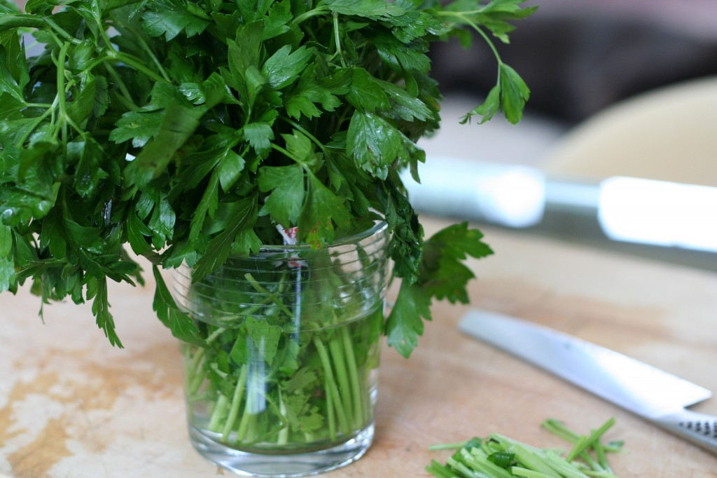 Parsley Storage